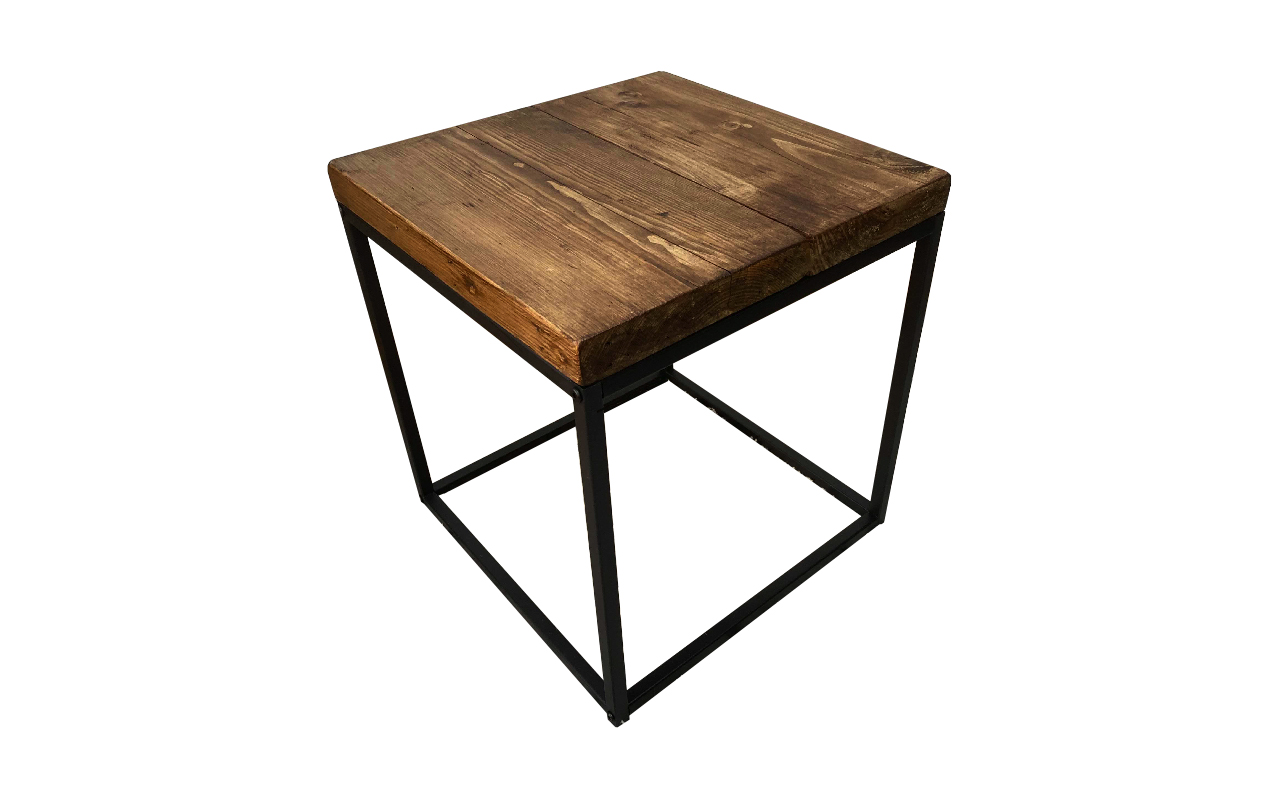 Picture of: Reclaimed Wood Side Table By Brockley Bespoke Sustainable Furniture