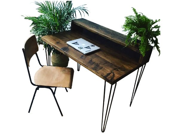 hairpin desk
