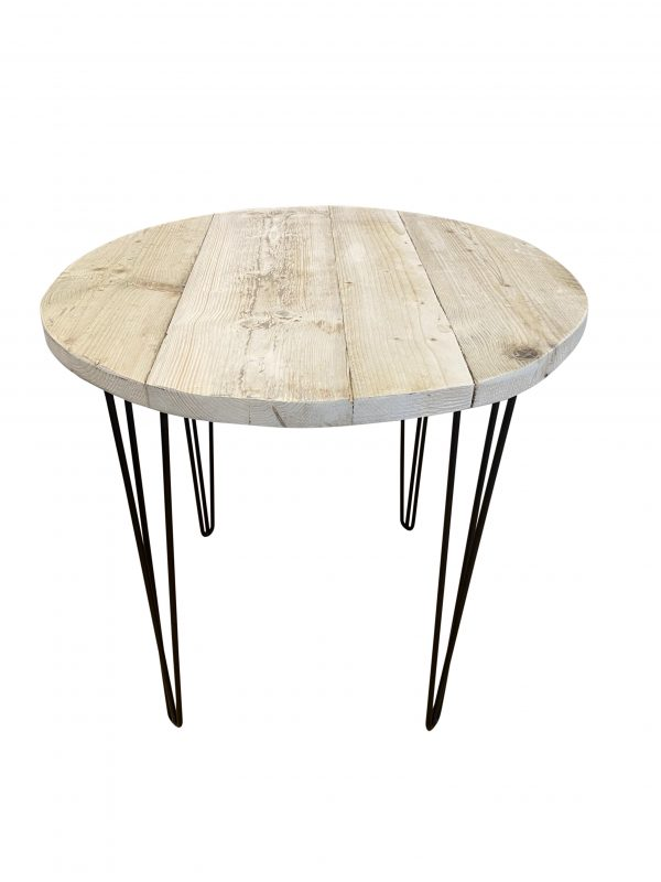 Reclaimed Wood Round Table